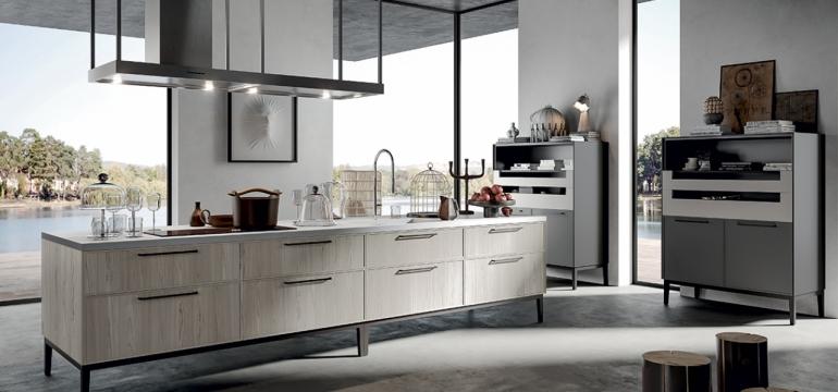 cocinas gris