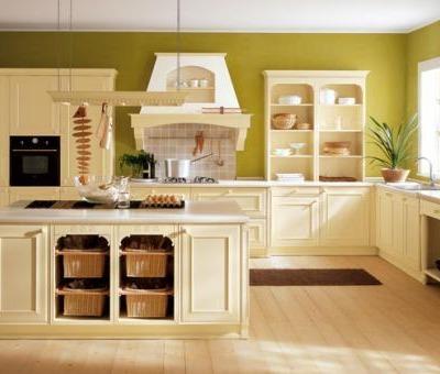 cocina vintage blanca