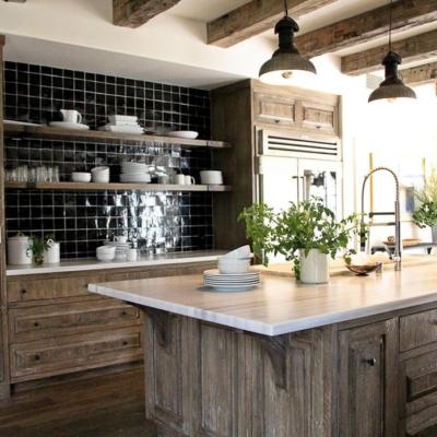 cocina rustica de obra